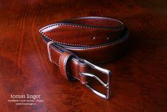 Bombírovaný opasek ručně vyrobený z krásné kůže Cuff Bracelets, Belt, Accessories, Jewelry, Fashion, Belts, Moda, Jewlery, Jewerly