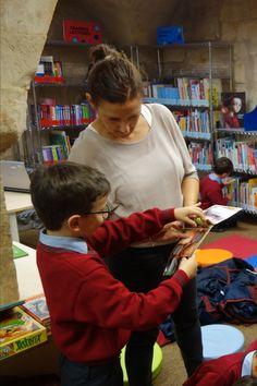 Visita de los alumnos de 1º curso de primaria del Colegio Montesori de Salamanca. (15 de octubre de 2019) Thing 1, October 15, Shells