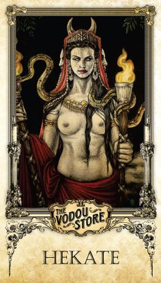 Prayer Card - Hekate