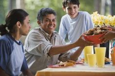 Healthy meals for large families