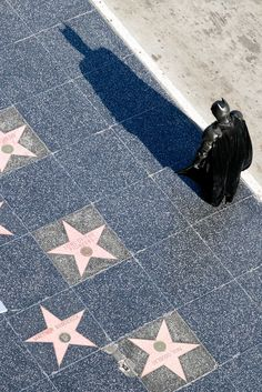 The Hollywood Walk of Fame has more than 2500 stars on the sidewalks of Hollywood Boulevard and Vine Street // localadventurer.com