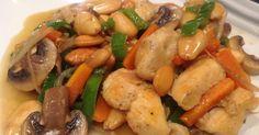 Fabulosa receta para Pollo con Almendras al estilo Chino. Os aconsejo que veáis el vídeo para una mejor comprensión de todo lo explicado. https://youtu.be/WyPXQFjkQHQ