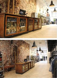 54 Ideas For Bread Shop Interior Inspiration Small House Furniture, Metal Patio Furniture, Trendy Furniture, Deco Furniture, Furniture Layout, Homemade Outdoor Furniture, Modern Patio, Retail Interior, Furniture Showroom