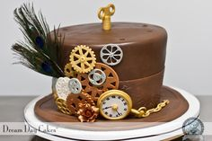 Steampunk Cake by Dream Day Cakes Baking Couture