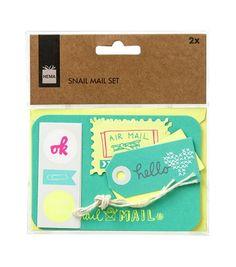HEMA Snail-Mail-Set – online – immer überraschend niedrige Preise!
