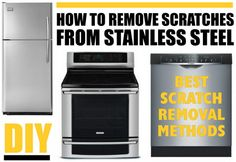 Best Ways To Remove Scratches From Stainless Steel Read more: http://removeandreplace.com/2014/05/01/best-ways-to-remove-scratches-from-stainless-steel/#ixzz31BFzSfbo