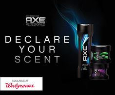 Save $2 on AXE + enter to win a $50 Walgreens gift card (4 winners) #axexperience #spon