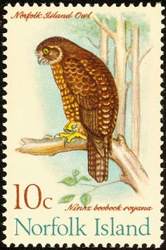 Morepork stamps - mainly images - gallery format