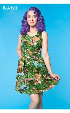 Jurassic Park Dress