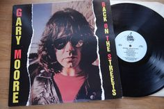 GARY MOORE Back On The Streets LP Grand Slam Slam10 nm/mint