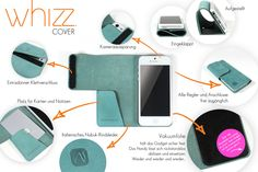 what a WHIZZ can do... WHIZZ Cover for Smartphones by VANDEBAG