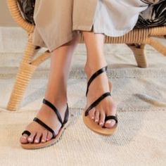 Greek Leather Sandals (Slip, Slide & Buckle Styles) | R1,599.00 | www.thestorer.co Greek Sandals, Accessories Shop, Leather Sandals, Fashion Shoes, Footwear, Slip On, Heels, Shopping, Style