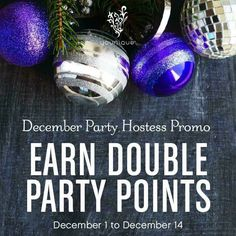 Ladies!!! I'm so excited to announce starting Dec1-14 Younique  is giving ALL HOSTESS DOUBLE REWARD POINTS! That means ANYONE WHO HOSTS A PARTY will earn FREE MAKEUP with just a $100 in orders!!!!  Super Easy!!!! OH MY!!!!!!! I have a few spots left just for you, PM me BY Saturday if you want FREE Makeup or Skincare <3