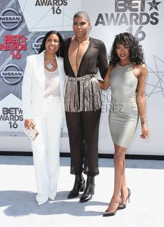ej johnson bet awards red carpet 2016 Magic Johnson Son, Famous Black People, Chic Outfits, Fashion Outfits, Women's Fashion, Two Spirit, Coloured Girls, Johnson Family, Black Families