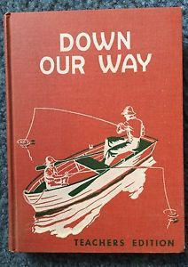 Vintage 1954 Teachers Edition Old School Down Our Way | eBay