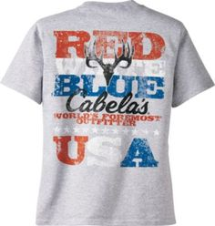 Red, white and blue boys tshirt for him to sport on Memorial Day.
