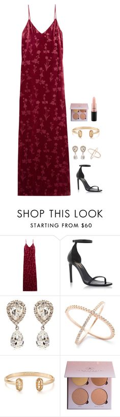 """""""Untitled #1066"""" by h1234l on Polyvore featuring Elizabeth and James, Yves Saint Laurent, Dolce&Gabbana, Kendra Scott and MAC Cosmetics"""