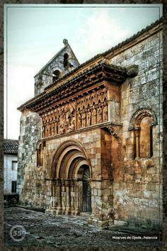 Iglesia de San Pedro. Moarves de Ojeda , Palencia