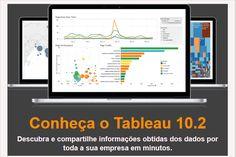 Obtenha respostas para suas perguntas em um piscar de olhos com o Tableau Desktop. Conheça as novas funcionalidades da versão 10.2. Acesse!