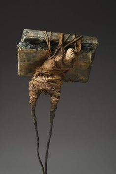 A Sculpture Is Trying to Talk Here Mixed Media Sculpture, Art Sculpture, Art Actuel, Modern Art, Contemporary Art, Art Du Monde, Creation Art, Inspiration Art, Giacometti