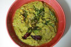 Ridge Gourd Chutney - Beerakaya Chutney - Turai Chutney Indian Food Recipes, Ethnic Recipes, Chutneys, Taste Buds, Gourds, Guacamole, Food Videos, Cooking, Kitchen