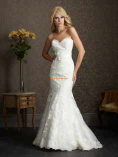 Discover the Allure Romance 2501 Bridal Gown. Find exceptional Allure Romance Bridal Gowns at The Wedding Shoppe Wedding Dresses 2014, Wedding Dress Styles, Bridal Dresses, Wedding Gowns, Bridesmaid Dresses, Lace Wedding, Dresses 2013, Bridal Veils, Party