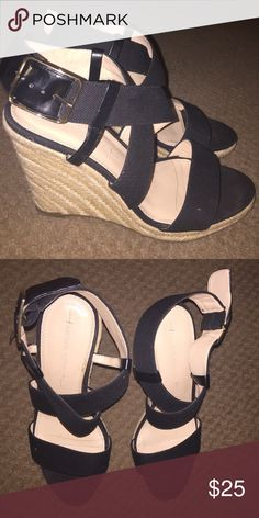 Banana Republic Wedges Great condition. Banana Republic Shoes Wedges