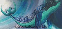 Modern Cross Stitch Kit Reina Cottier Whale by GeckoRouge on Etsy