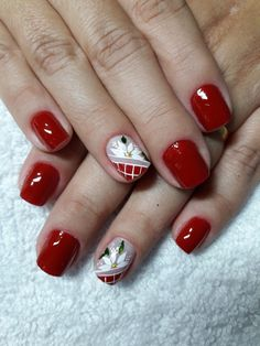 Manicure, Neutral Nails, Christmas Nail Art, Nails Inspiration, My Nails, Eyeliner, Nail Designs, Valentines, Red