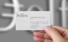 Delfex identity designed by Jan Zabransky.