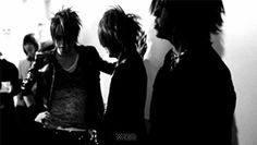 Aoi, Ruki and Reita