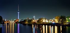 Berlin at night - Visit the World Cup Winners  http://mpstravelandtours.com.au/visit-world-cup-winners/