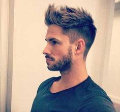 Mens Short Spiky Hair