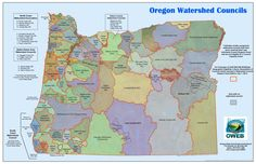 Oregon watershed councils by the Oregon Watershed Enhancement Board