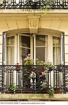 Balcony, Paris