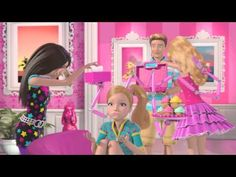 I seriously love these little videos.  :) Barbie™ Life in the Dreamhouse -- Gone Glitter Gone - Part 1