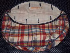 Preppy VINTAGE BROOKS Brothers OOAK Plaid Bermuda Bag Cover by VintageKitschEtsy, $4.65