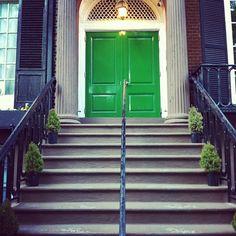 green door,greenwich village
