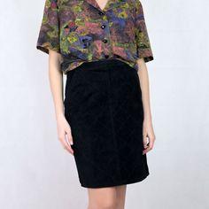 VIN-SKI-05050 Vintage σουέντ φούστα S Vintage Skirt, Skirts, Skirt, Gowns, Skirt Outfits, Petticoats, Dress