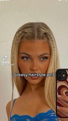 Easy Hairstyles For Long Hair, Curly Hair Tips, Summer Hairstyles, Pretty Hairstyles, Curly Hair Styles, Hair Tips Video, Hair Videos, Hair Styler, Aesthetic Hair