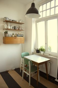 dinky little table and chairs