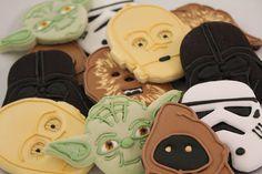 Amazing Star Wars cookies.
