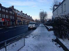 The Snow In Sundridge Park Bromley Kent England On Monday 21st January 2013