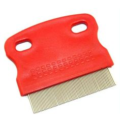 Grooming Comb for Dog Cat Pet Red $0.59