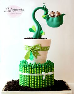 Sweet Peas Cake Project ~ McGreevy Cakes