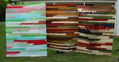 Jelly Roll Race - Quilts