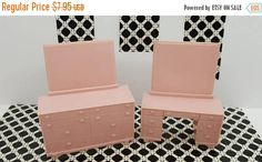 Canada 150 Celebrates Superior bedroom Vanity and Dresser pink Furniture Soft Plastic items Colorful