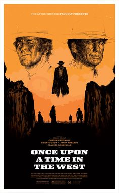 Once Upon a Time in the West (3.5 stars) Good story of revenge with a few subplots thrown in. Overlong and too slowly paced for my tastes. Excellent performances all around. My first exposure to Claudia Cardinale. Talented and quite the looker! The music was a big plus in the experience of the movie. I am a Leone fan; was shocked to see Dario Argento in the writing credits though.