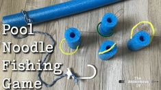 DIY Pool Noodle Fishing Game – The Anonymous OT We create a pool noodle fishing game to work on hand eye coordination, attention, and motor planning in occupational therapy. Group Therapy Activities, Occupational Therapy Activities, Therapy Games, Elderly Activities, Senior Activities, Therapy Tools, Therapy Ideas, Children Activities, Motor Activities