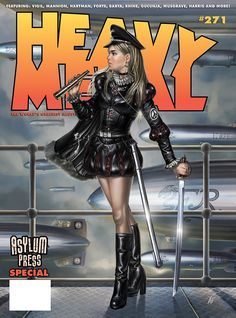 Heavy Metal #271 Cover